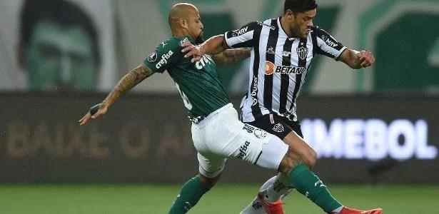 Palmeiras x Atlético-MG: nenhum time emplaca e partida termina no 0 a 0