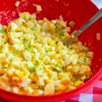Amish Potato Salad Recipe