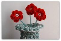 Trapillo: Flores en el jarrón