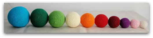 Bolas de coloress