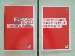 Buku manual dalam bahasa Inggris & Indonesia