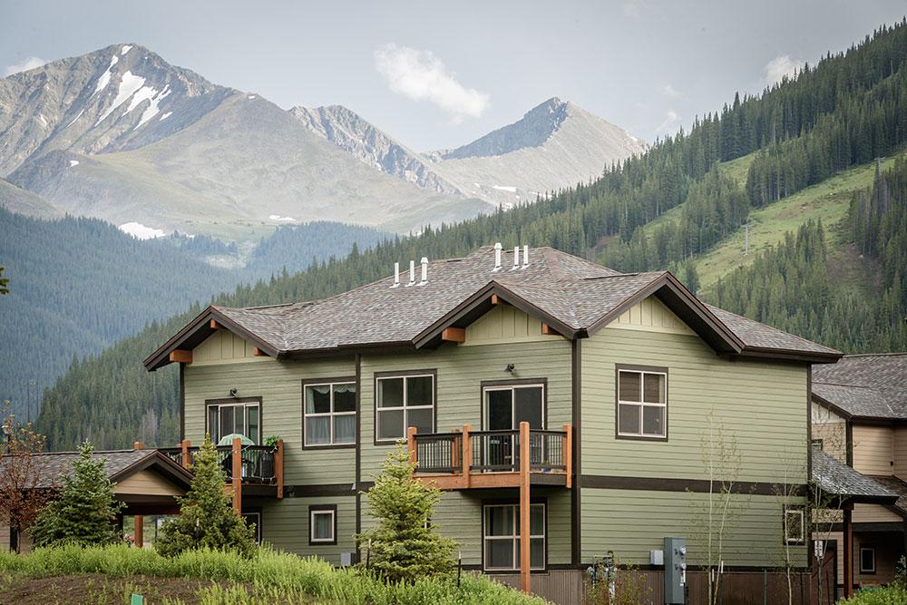 Copper Point Copper Mountain Housing Rear Decks