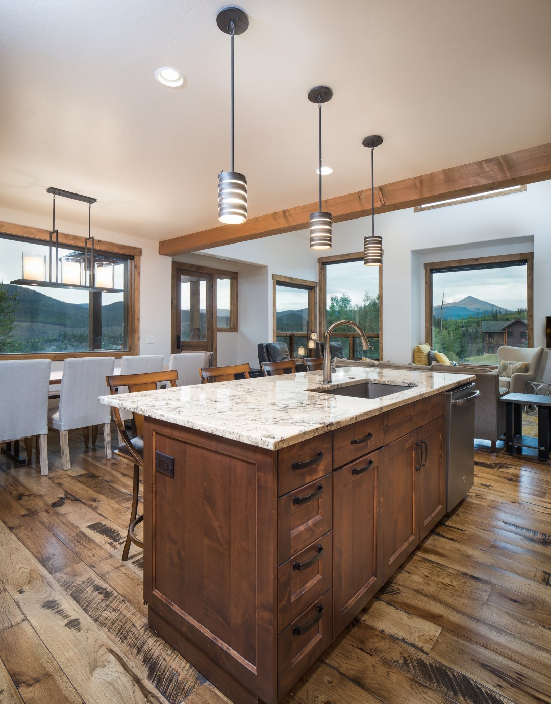 Highland Meadows Kitchen Island