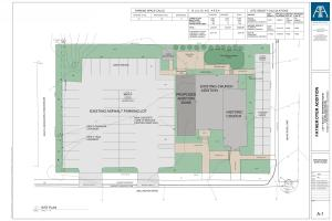 Father Dyer Addition Site Plan Arapahoe Architects