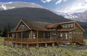 Red Canoe Lodge Rendering