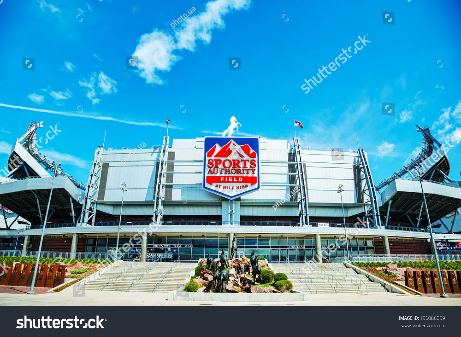 Sports Authority Field at Mile High in Denver on April 30, 2014 in Denver, Colo. (photo.ua/Shutterstock.com)