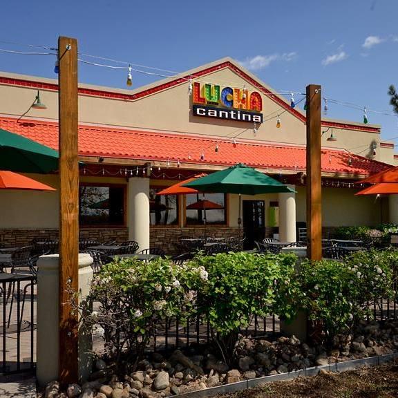 Lucha Cantina's Littleton storefront.