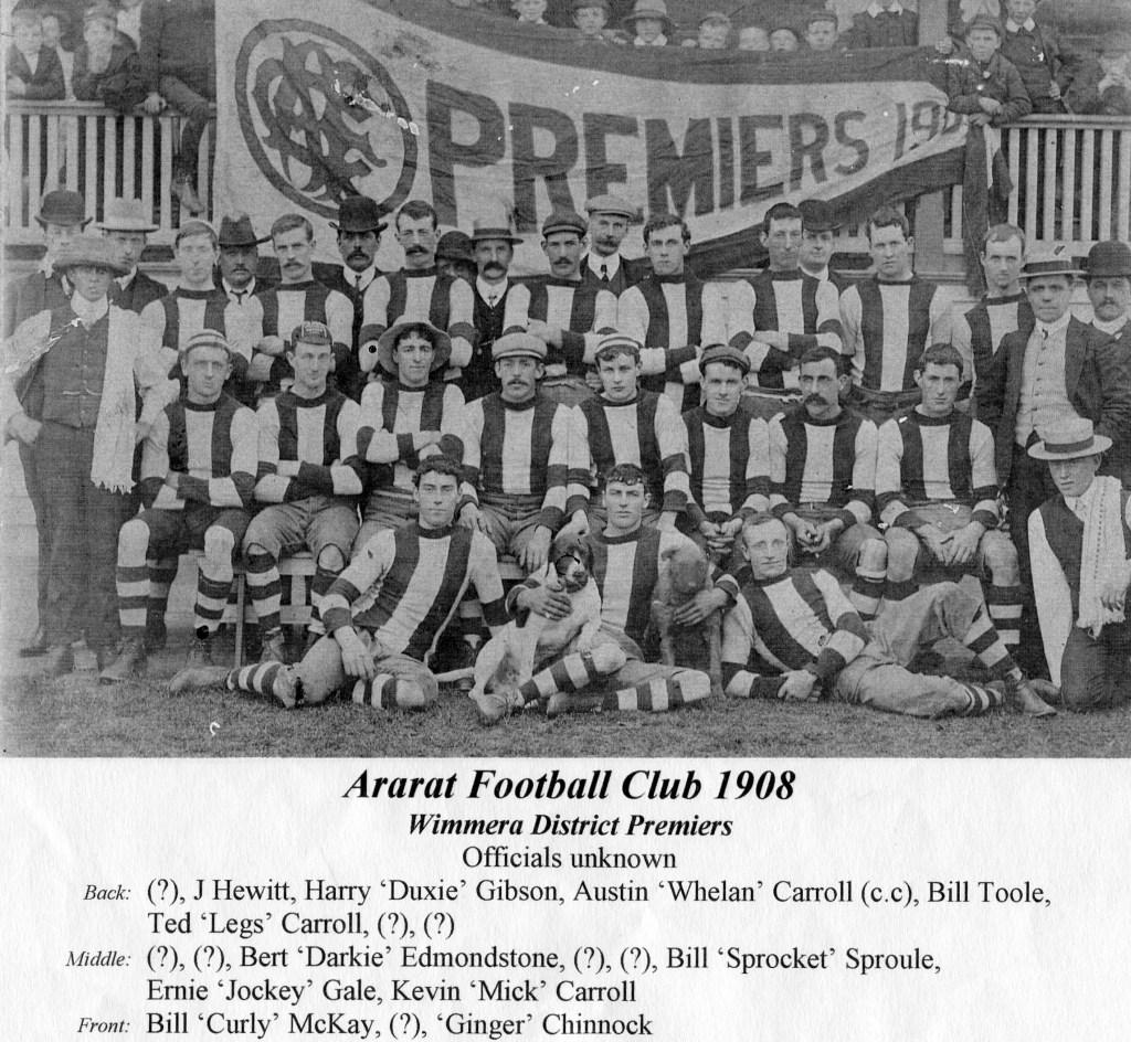 AFC 1908 premiership team