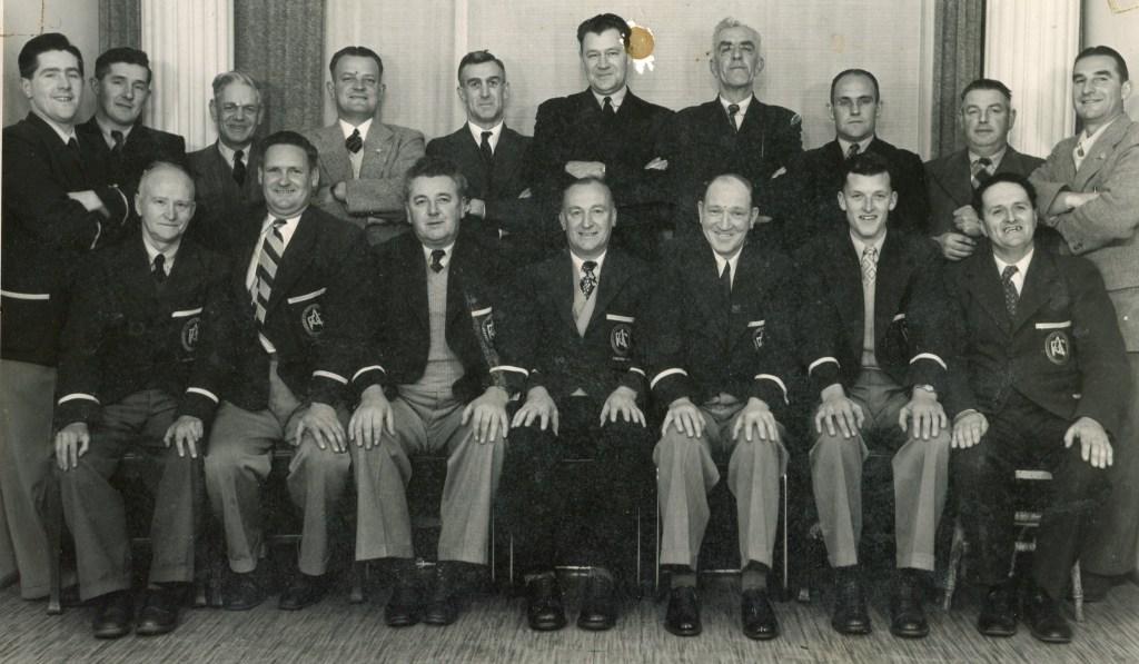 Ararat Football Club Committee 1953