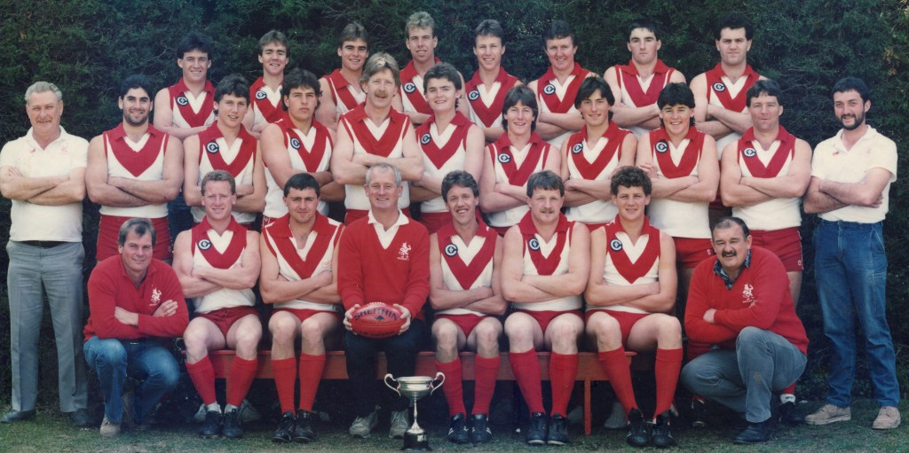 Ararat Football Club 1987 Reserve Prems
