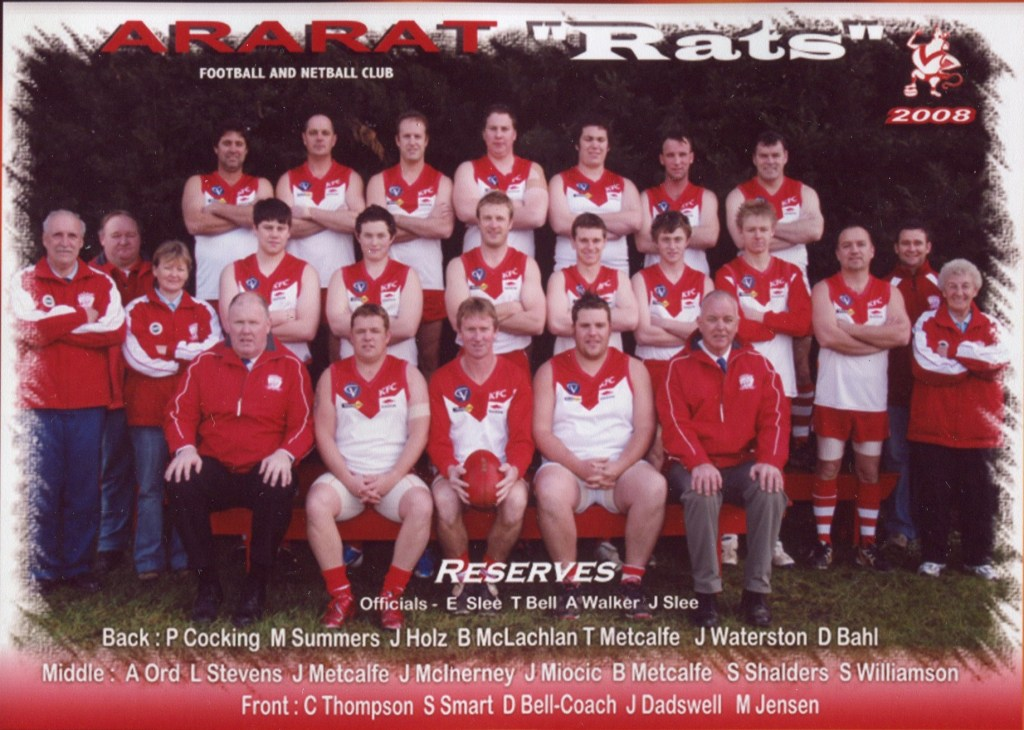 afc 2008 reserves