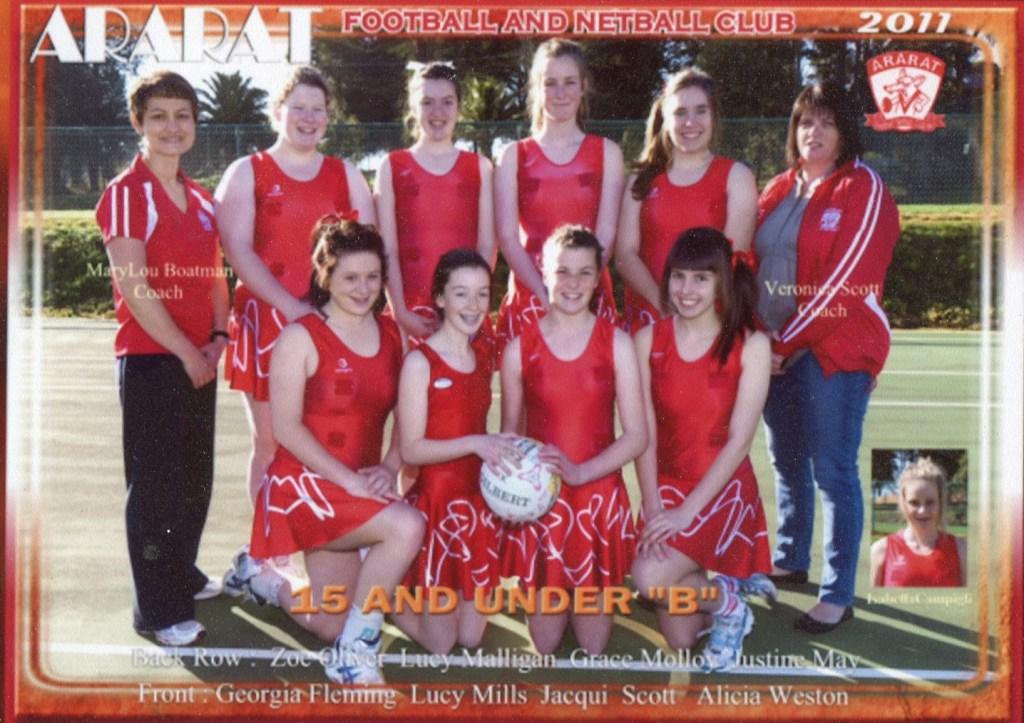 AFNC 2011 U15&U B