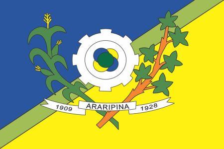 Bandeira de Araripina Pernambuco