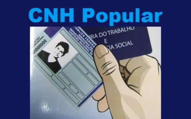 Inscrições para o CNH Popular são prorrogadas até o próximo dia 27