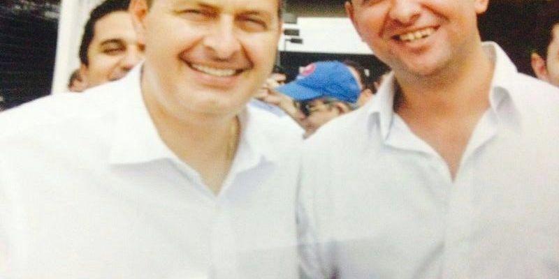 Luciano Capitão e Eduardo Campos