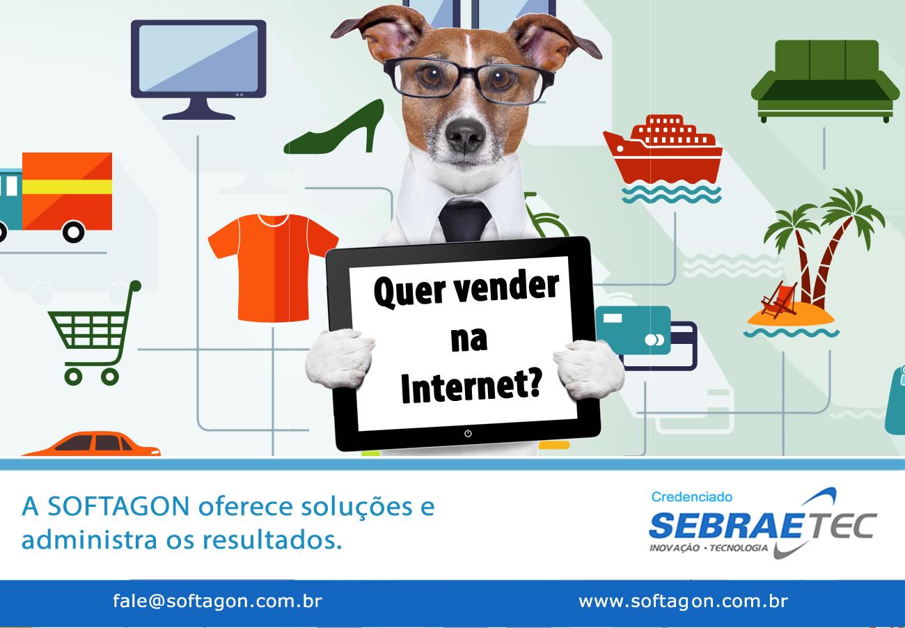 Softagon de Araripina faz sua Empresa vender pela Internet