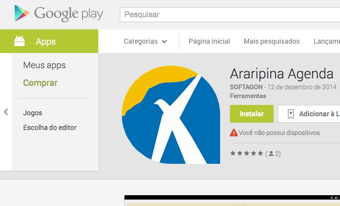 Araripina.com.br comemora seus 15 anos com aplicativo para seu celular