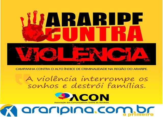 No Sertão do Araripe, imprensa desenvolve campanha contra a violência