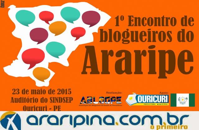 1º Encontro de Blogueiros do Araripe