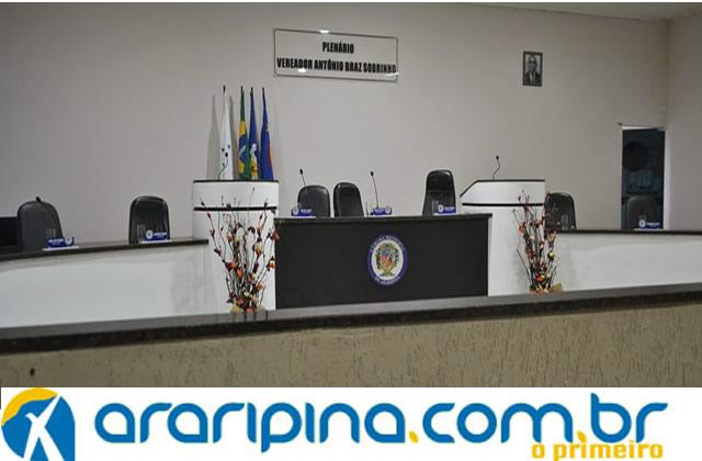 Vereadores não comparecem a sessão na Câmara Municipal de Araripina