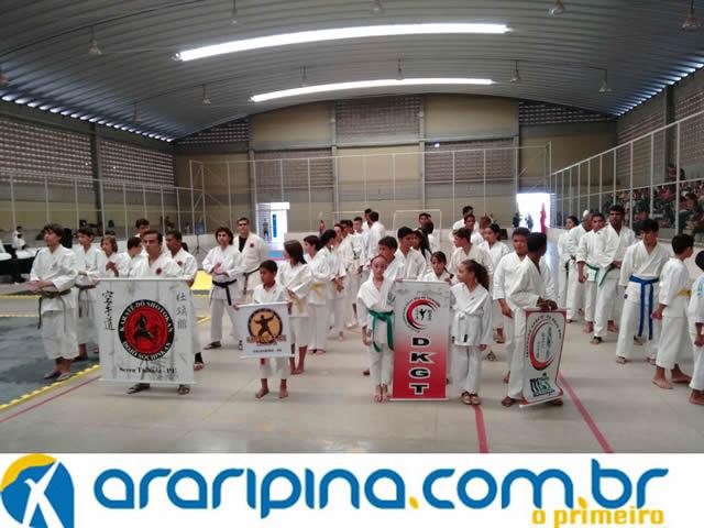 I Copa Araripinense de Karatê reúne atletas de todo o Pernambuco