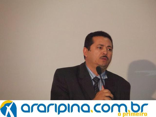 Vereador Francisco Edivaldo quer nota de repúdio a imprensa local