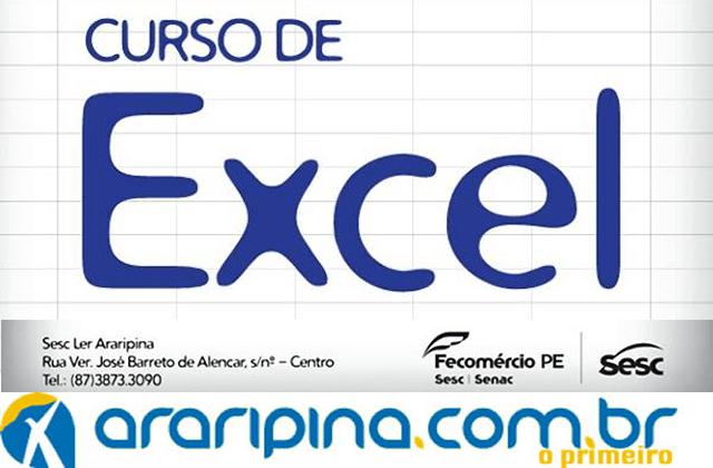 Sesc Araripina abre inscrições para Curso de Excel
