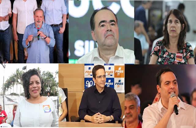 Conheça os Candidatos ao governo de PE nas eleições de 2018