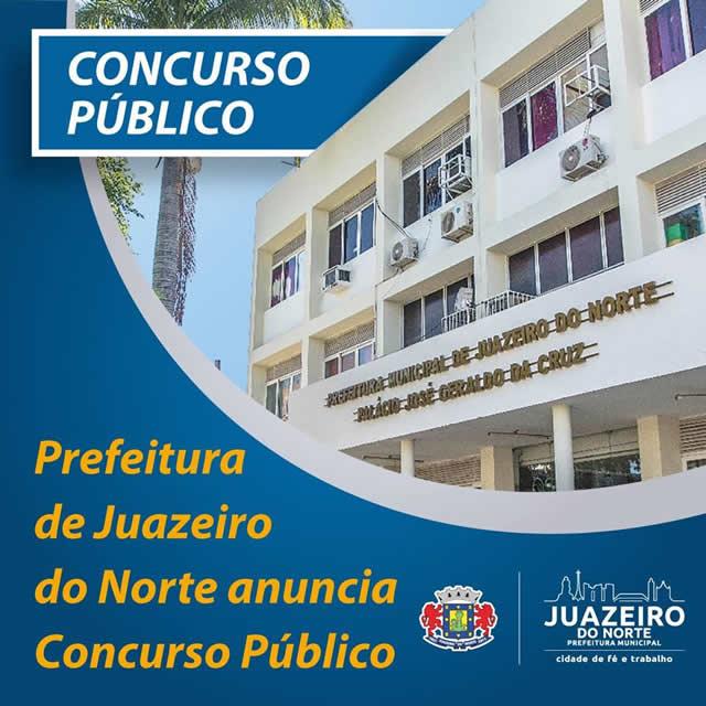 Juazeiro do Norte irá realizar concurso público municipal