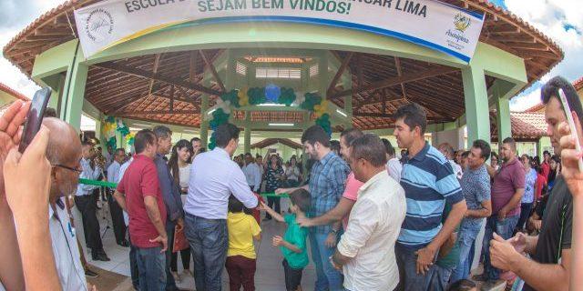 Escola Municipal Dr. Francisco de Alencar é inaugurada pela Prefeitura de Araripina