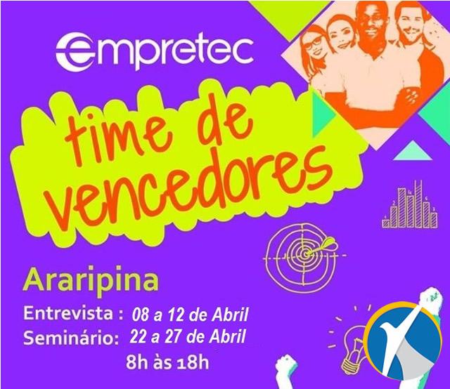 Sebrae Araripe promove seminário EMPRETEC. Veja como participar!
