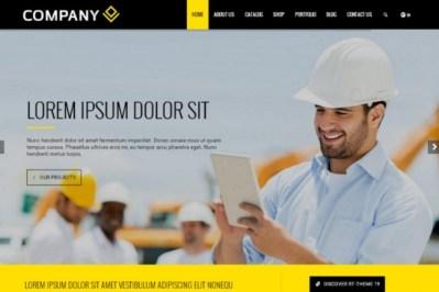 Современный и адаптивный сайт на CMS Wordpress под ключ. Сайт визитка 3