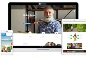 Современный и адаптивный сайт на CMS WordPress под ключ. Сайт визитка 4