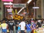 愛媛県松山市の夏の一大イベント「土曜夜市」に行ってきた グルメ、スイーツもあったよ