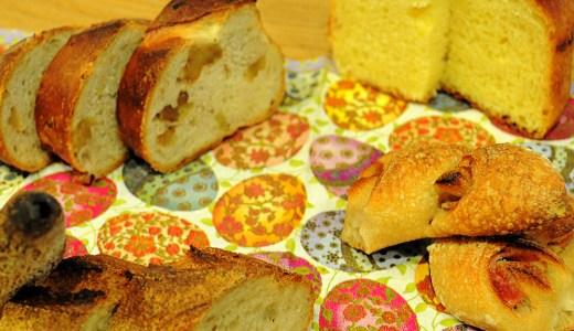 我家では朝にパンを食べずに夜に食べる!なぜなら
