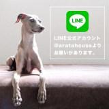 「LINE@aratahouse」に友だち追加をして頂いた皆さんに「お願い」があります。