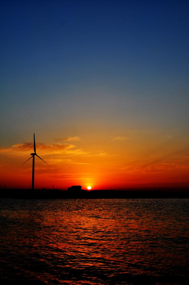 「淡路島の夕焼け」衝動