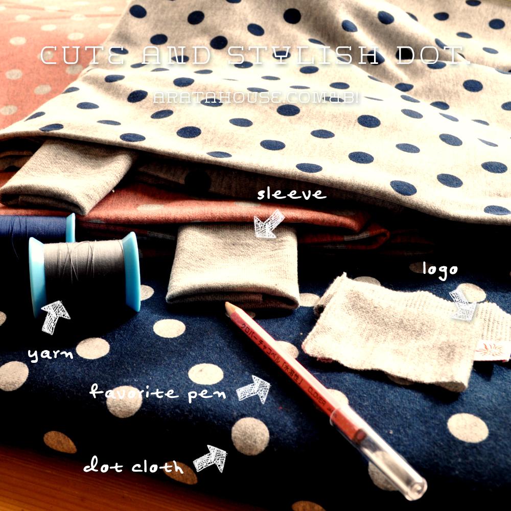 イタグレ服、ミニピン服を考える時間「可愛さとスタイリッシュさを感じるドットの服を作りたい!」