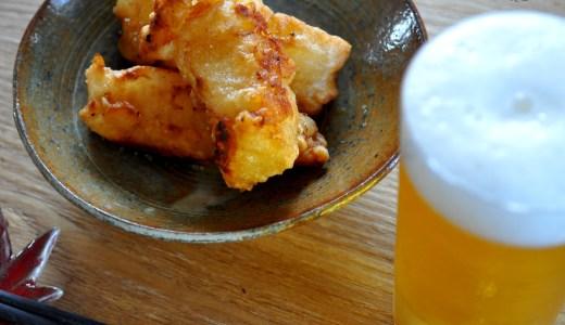 淡路島の食材を使った昼飯380円、烏賊フライ、鯵フライ、レタス