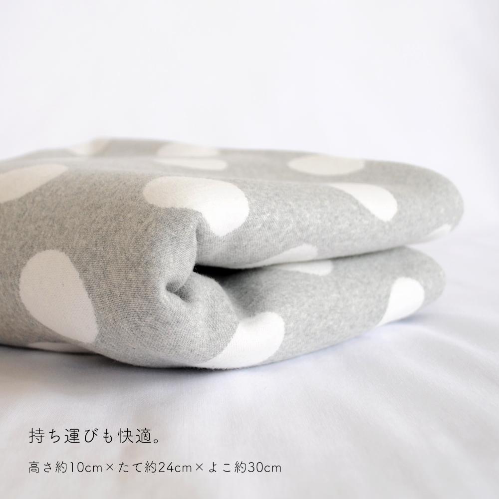 「新色追加しました」ぬくぬく、あったか寝袋「もこもこ素材で毛布のような暖かさ」 ドット裏ボアニット生地