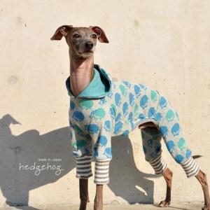 犬服|ハリネズミ|日本製ジャガードニット|選べる4タイプ