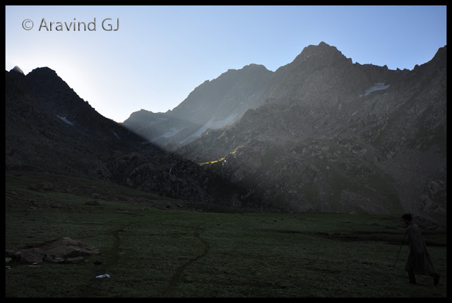 Kashmir great lakes trek: Gangabal and Nundkol lakes