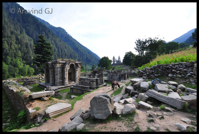 Temples of Kashmir: Naranag Temple