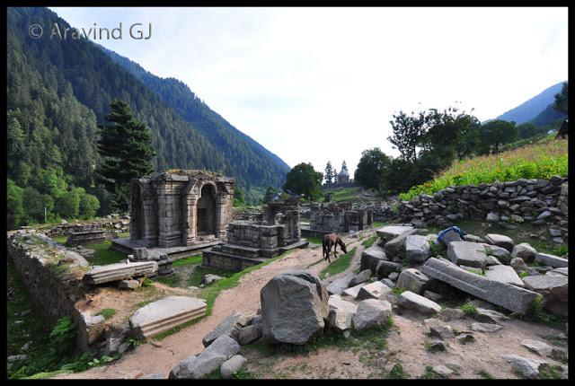 Temples of Kashmir: Naranag Temple