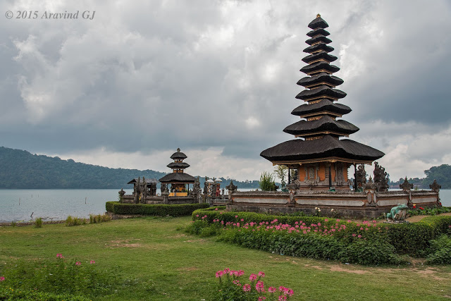 Pura Ulun danu Bratan, the most photographed place in Bali