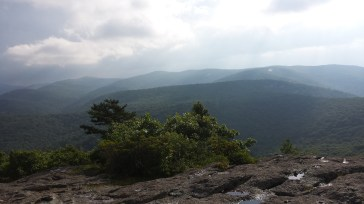 View from the spy rock