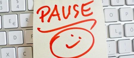 Husk at holde pauser
