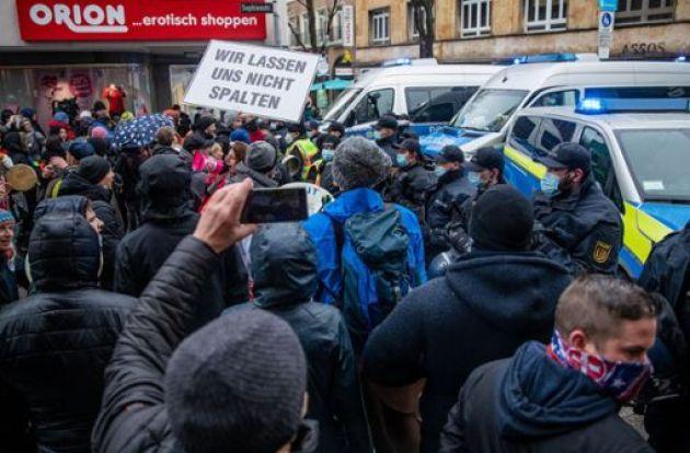 ألمانيا , كورونا , مظاهرات ضد كورونا , أخبار ألمانيا , الأخبار , ألمانيا اليوم