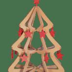 Arbol de Navidad Alternativo Madera Contrachapada