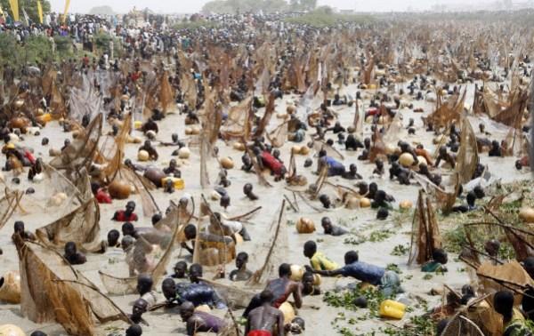 pêcheurs nigérians